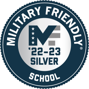 Military Friendly School badge for 2021-22