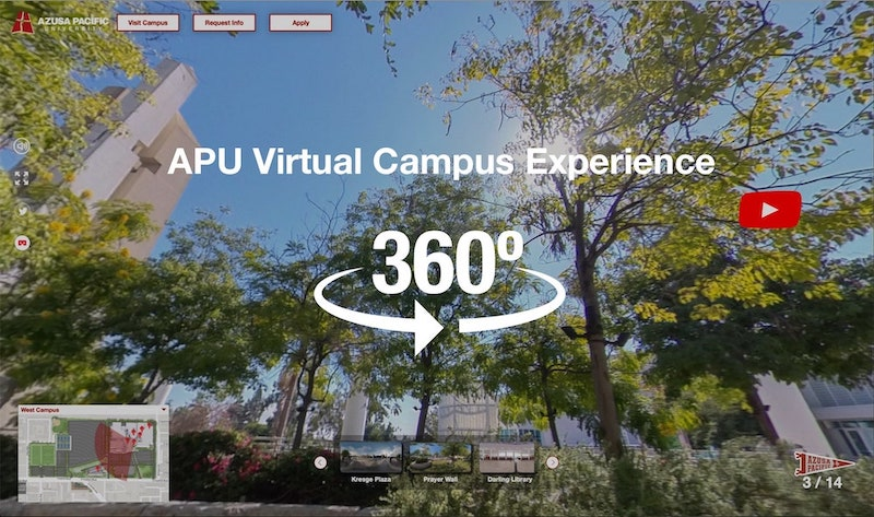 APU Virtual Campus Experience